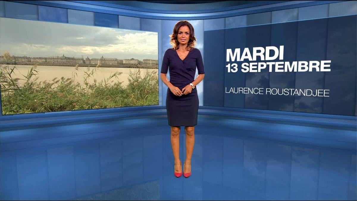 Laurence Roustandjee Météo M6 13.09.2016