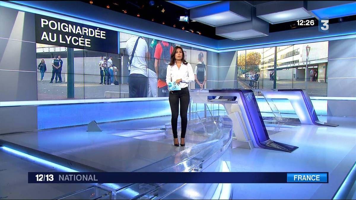 Emilie Tran Nguyen 12/13 France 3 le 13.09.2016