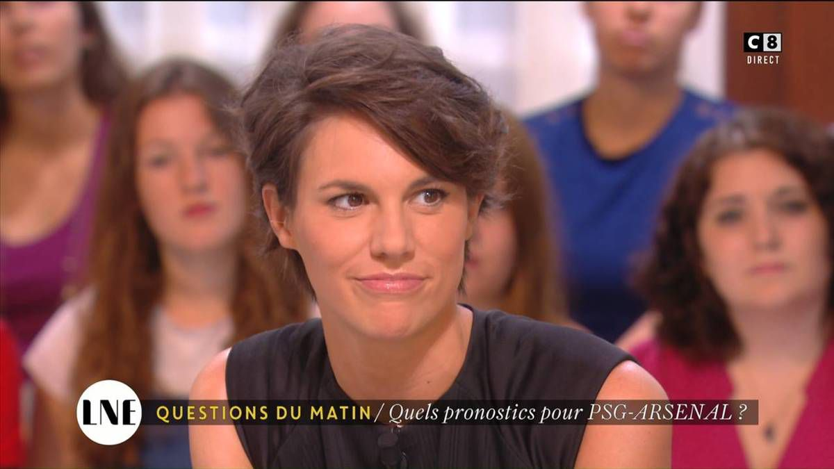 Emilie Besse La Nouvelle Edition C8 le 13.09.2016