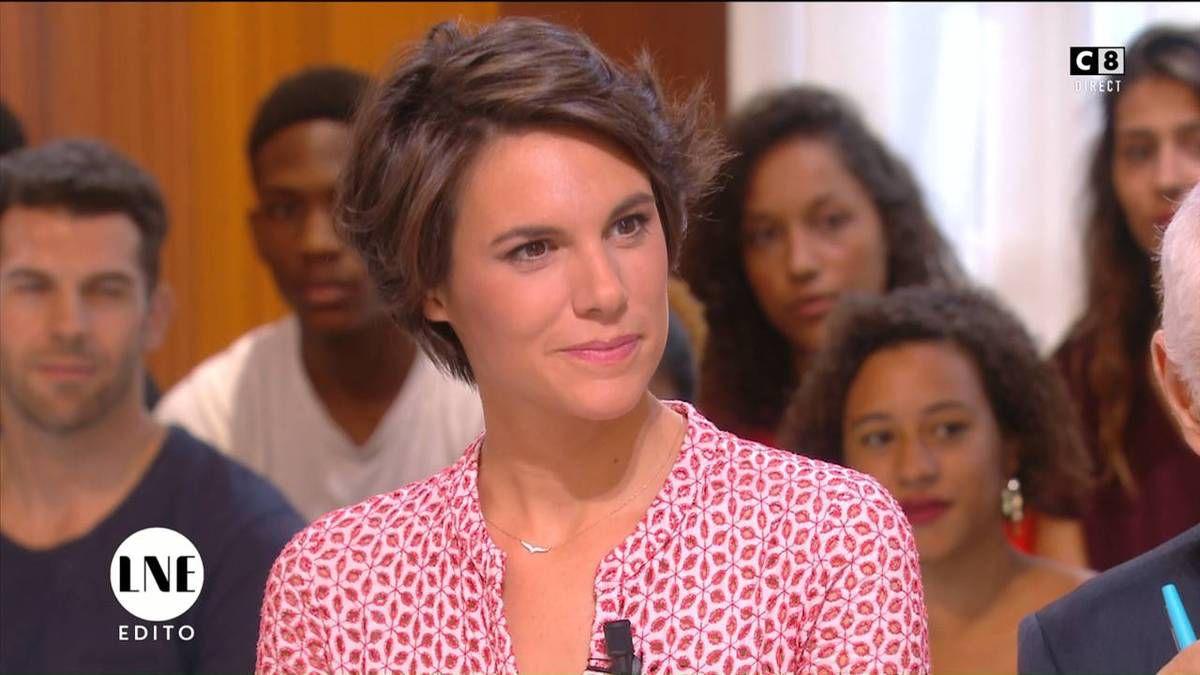 Emilie Besse La Nouvelle Edition C8 le 14.09.2016