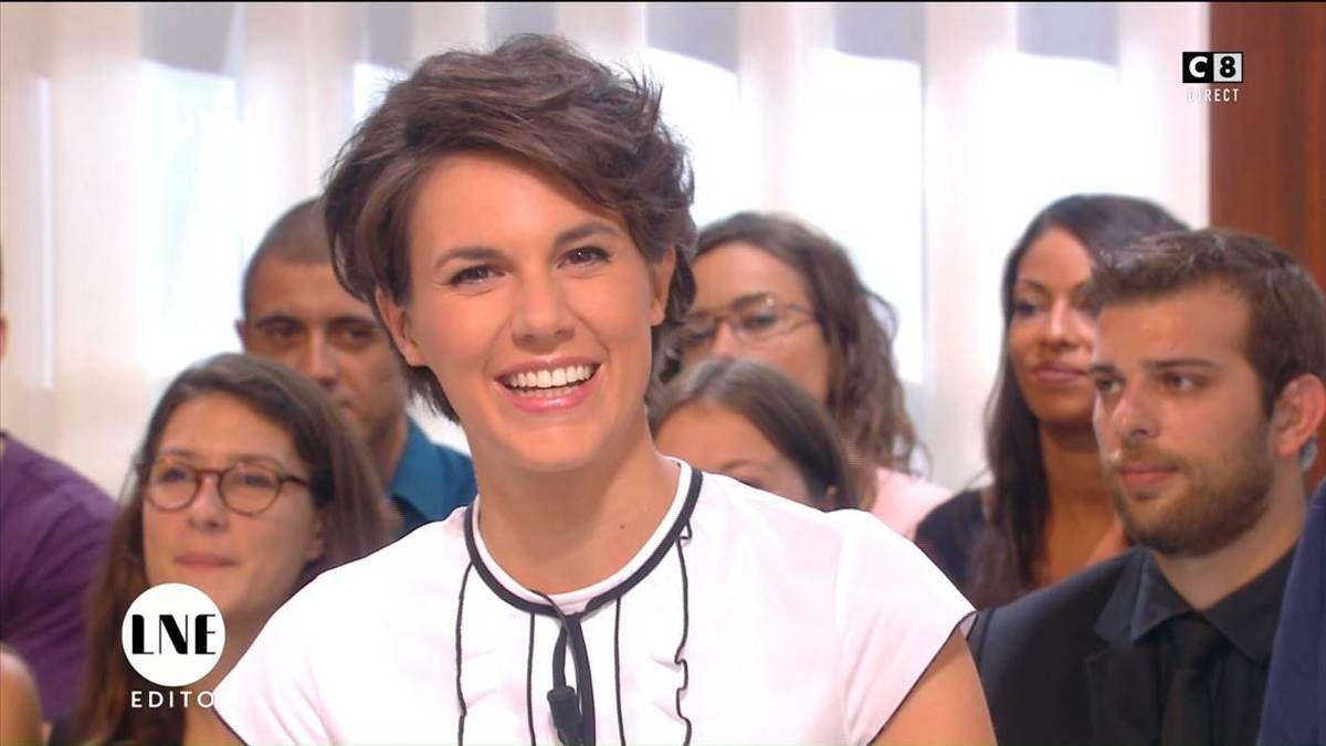 Emilie Besse La Nouvelle Edition C8 le 15.09.2016