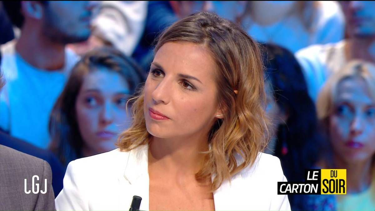 Alice Darfeuille Le Grand Journal Canal + le 16.09.2016