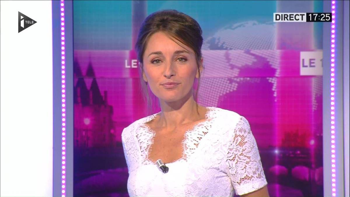 Amandine Bégot Le 17-19 Itélé le 16.09.2016