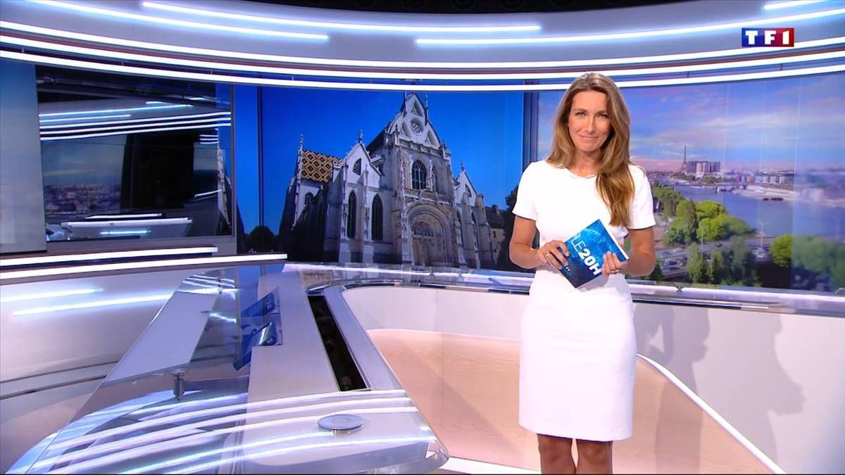 Anne-Claire Coudray JT 20H TF1 17.09.2016