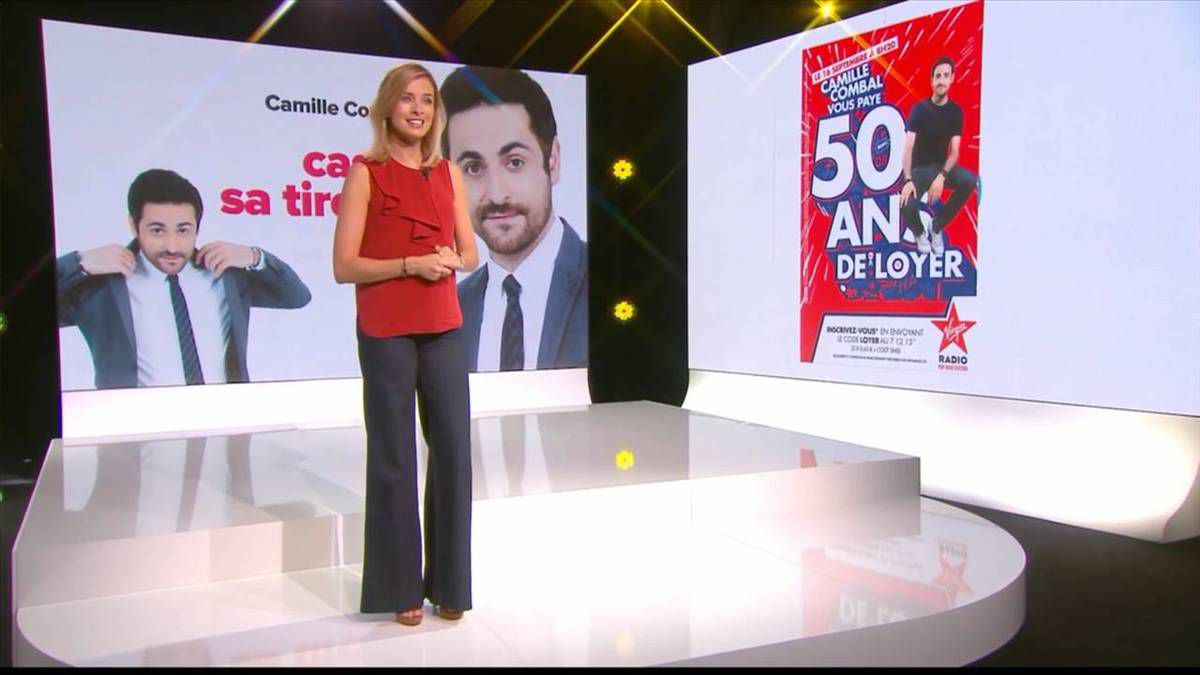 Isabelle Ithurburu Le Tube Canal+ le 17.09.2016