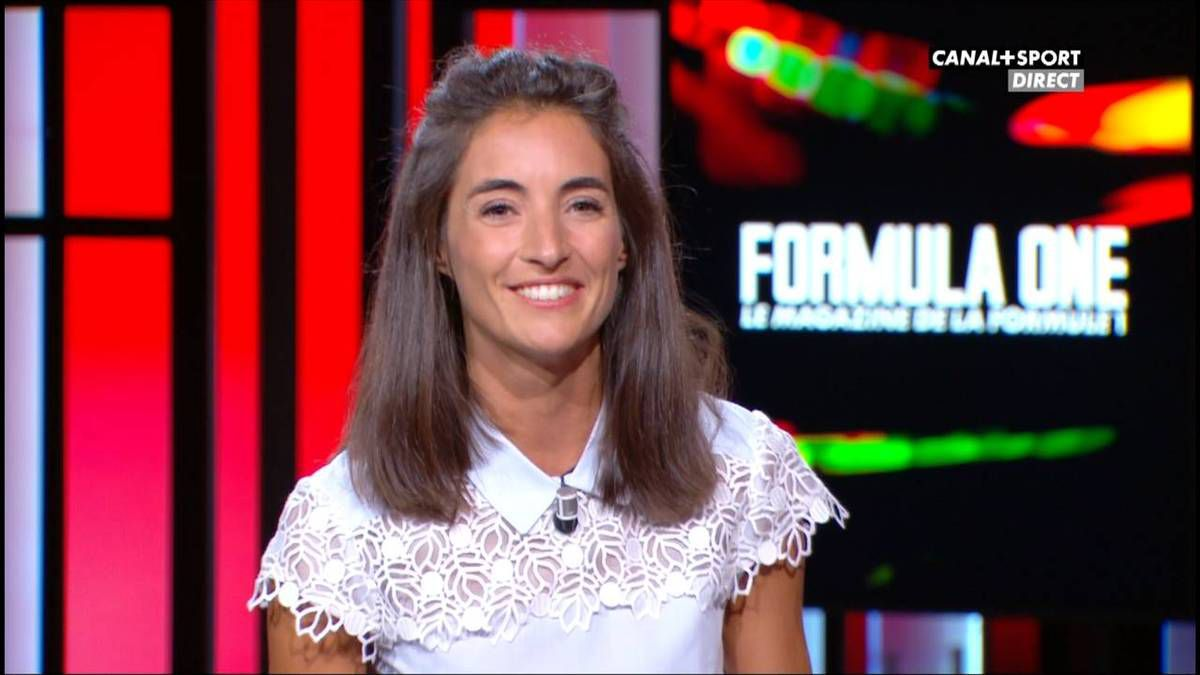 Margot Laffite Formula One Canal + le 18.09.2016