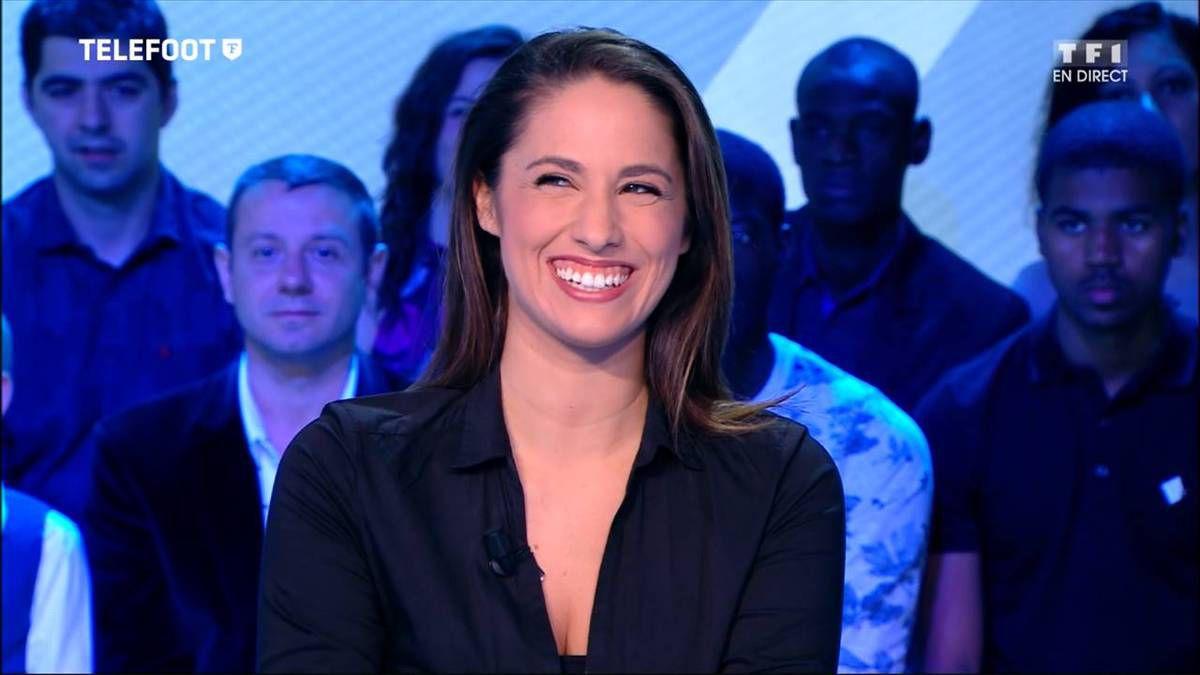Charlotte Namura Téléfoot TF1 le 18.09.2016