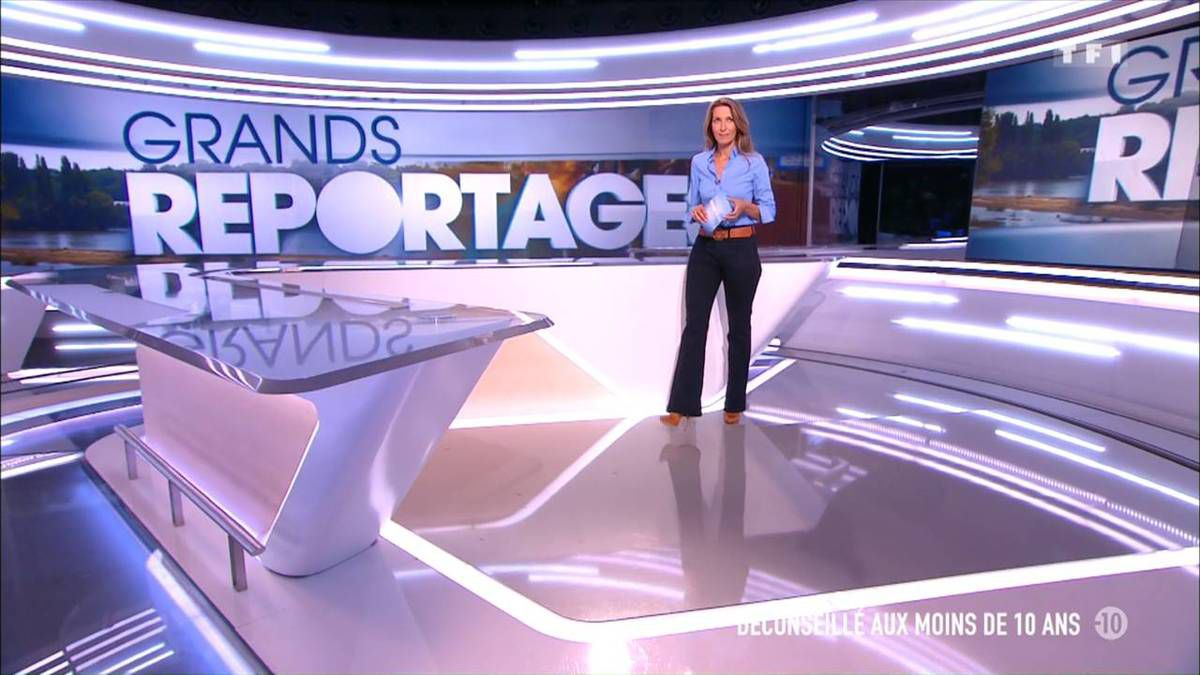 Anne-Claire Coudray JT 13H TF1 18.09.2016