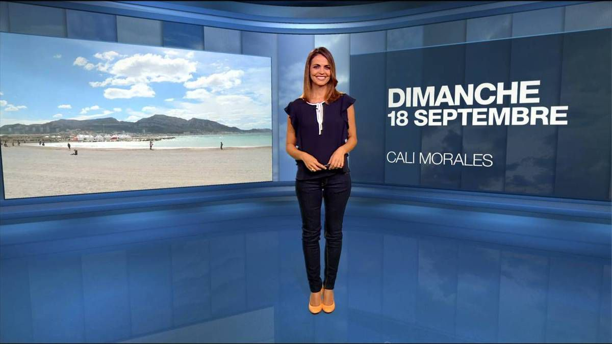 Cali Morales Météo M6 18.09.2016