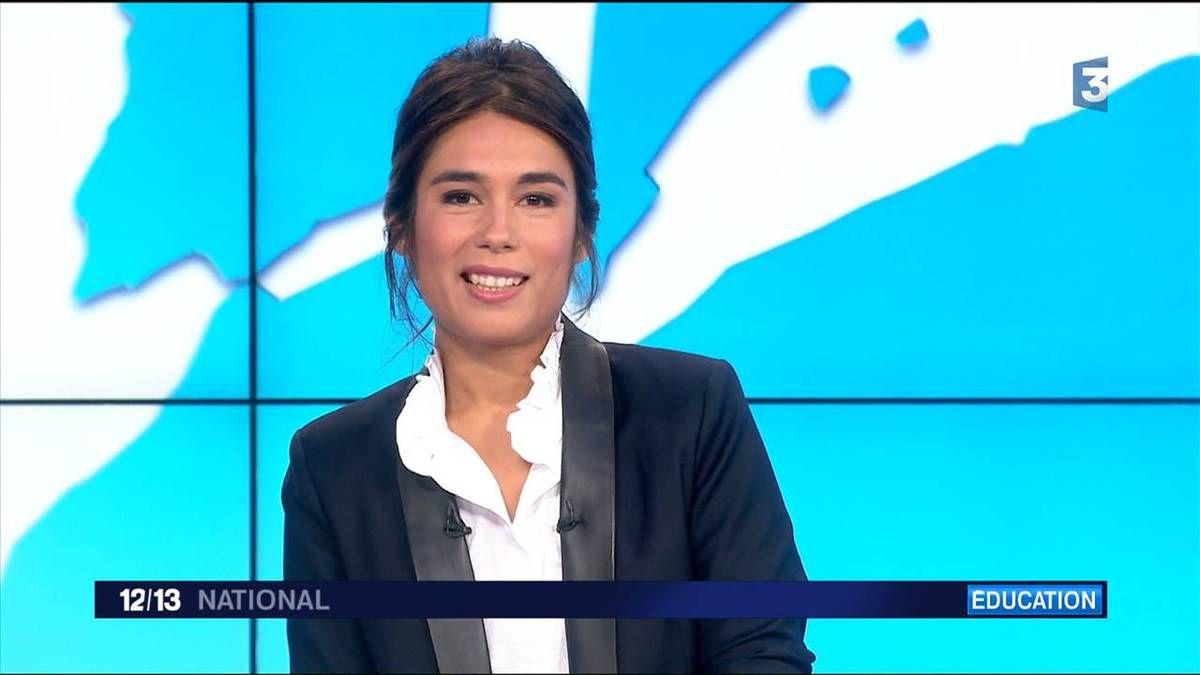 Emilie Tran Nguyen 12/13 France 3 le 19.09.2016