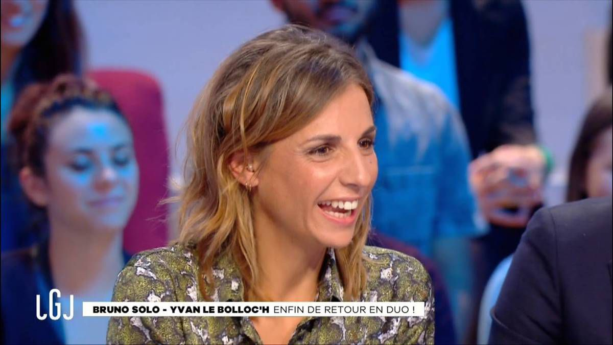 Alice Darfeuille Le Grand Journal Canal + le 19.09.2016