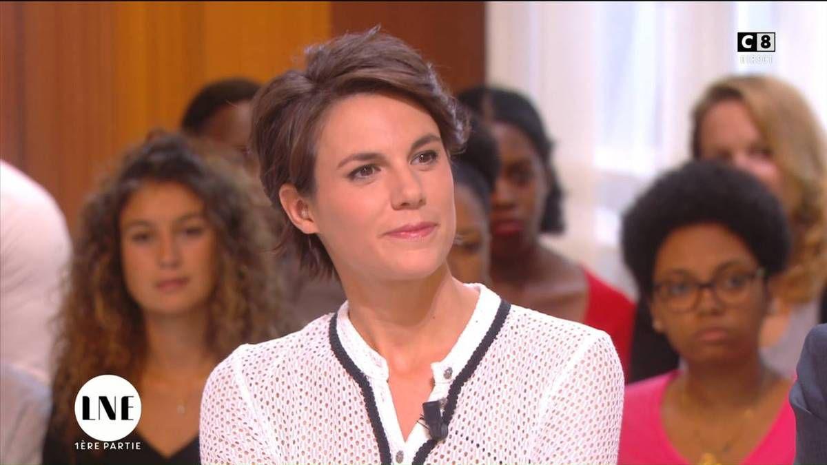 Emilie Besse La Nouvelle Edition C8 le 20.09.2016