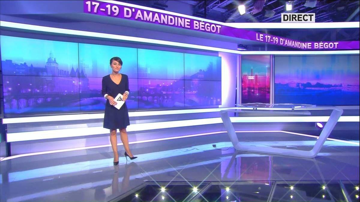 Amandine Bégot Le 17-19 Itélé le 12.09.2016