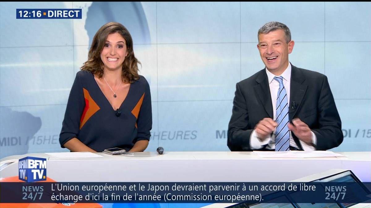 Fanny Agostini Météo BFM TV le 20.09.2016