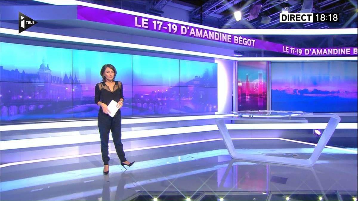 Amandine Bégot Le 17-19 Itélé le 21.09.2016