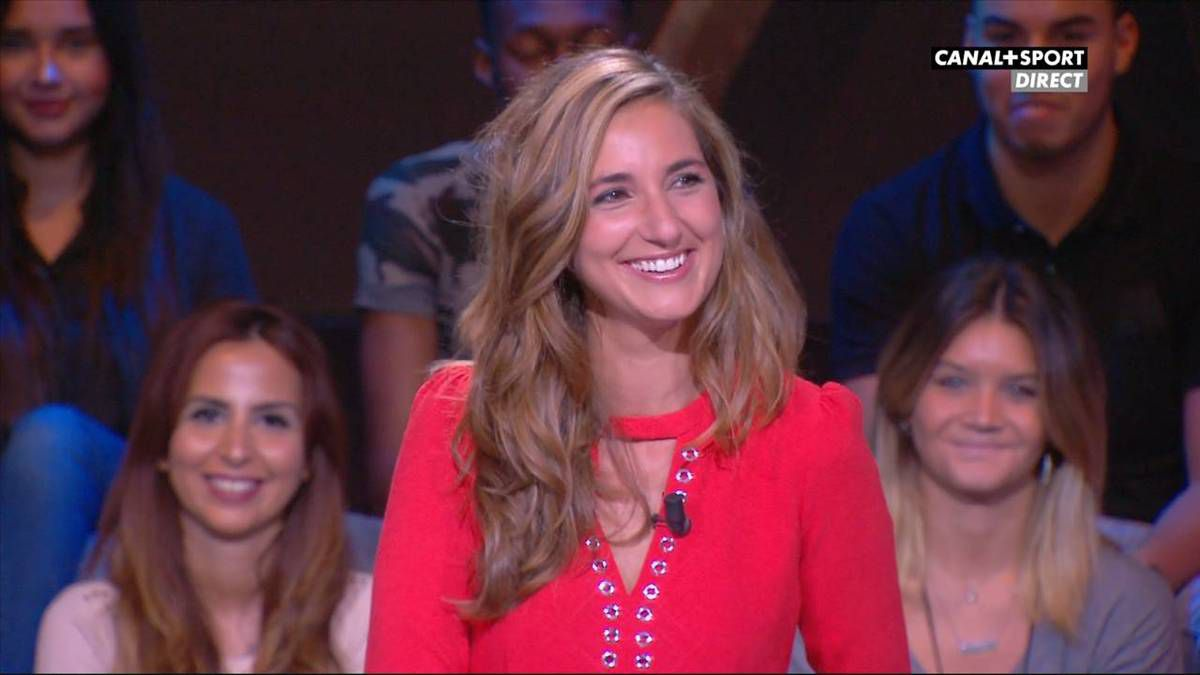 Marie Portolano 19H30 Sport Canal + Sport le 23.09.2016