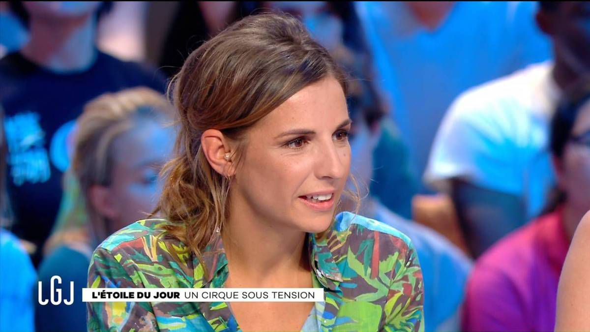 Alice Darfeuille Le Grand Journal Canal + le 23.09.2016