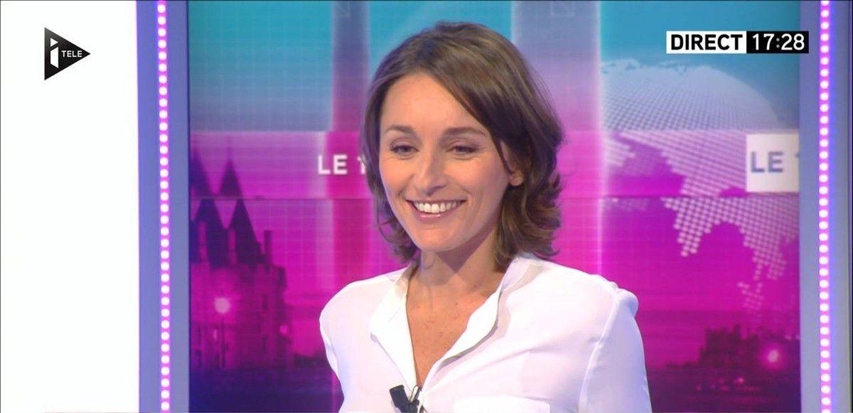 Amandine Bégot Le 17-19 Itélé le 23.09.2016