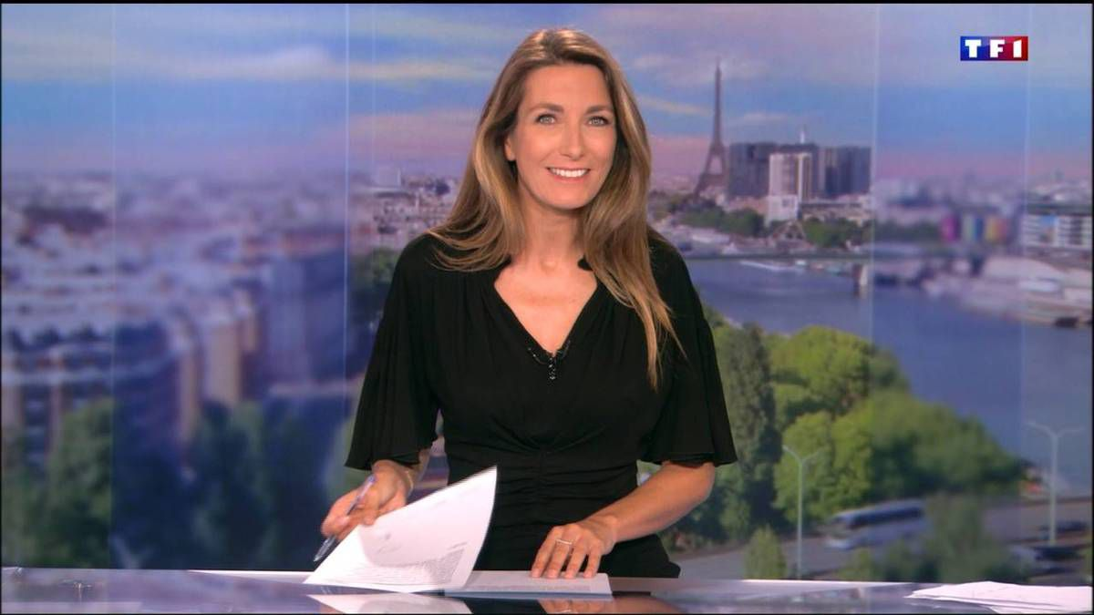 Anne-Claire Coudray JT 20H TF1 24.09.2016