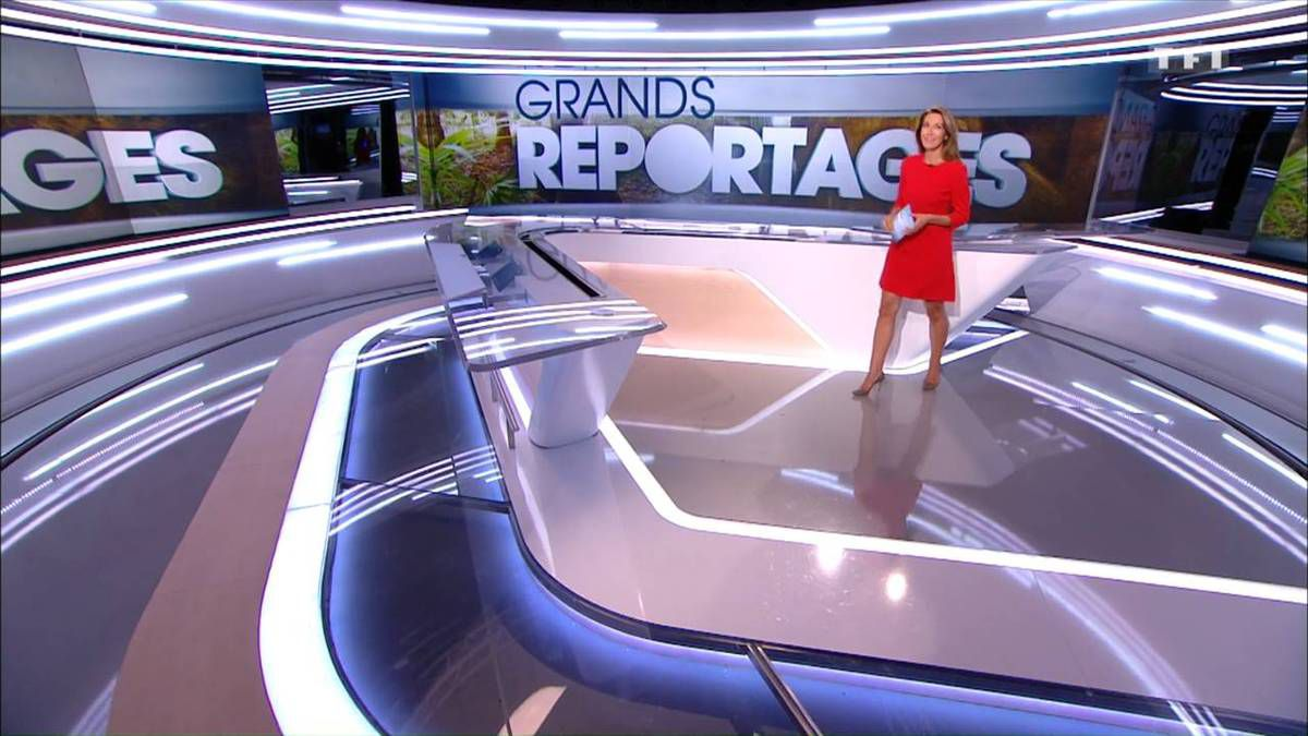 Anne-Claire Coudray JT 13H TF1 24.09.2016