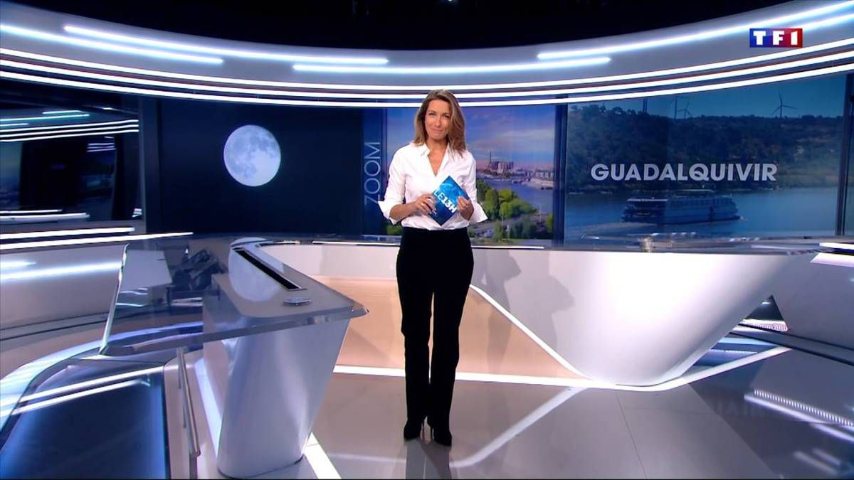 Anne-Claire Coudray JT 13H TF1 25.09.2016