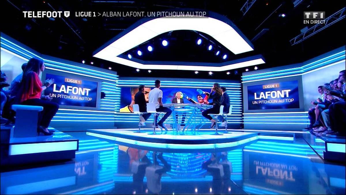 Charlotte Namura Téléfoot TF1 le 25.09.2016