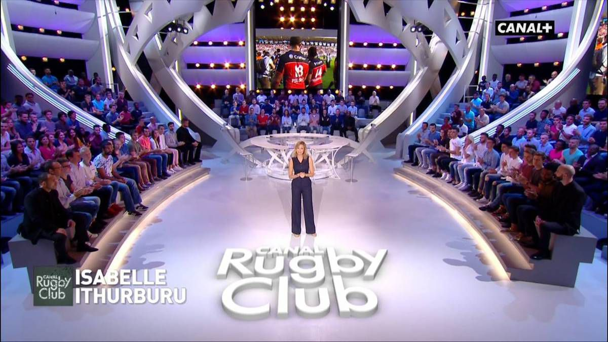 Isabelle Ithurburu Canal Rugby Club le 25.09.2016
