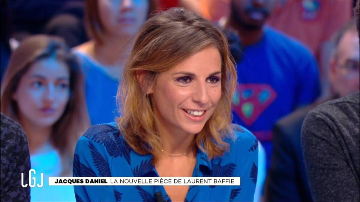 Alice Darfeuille Le Grand Journal Canal + le 26.09.2016