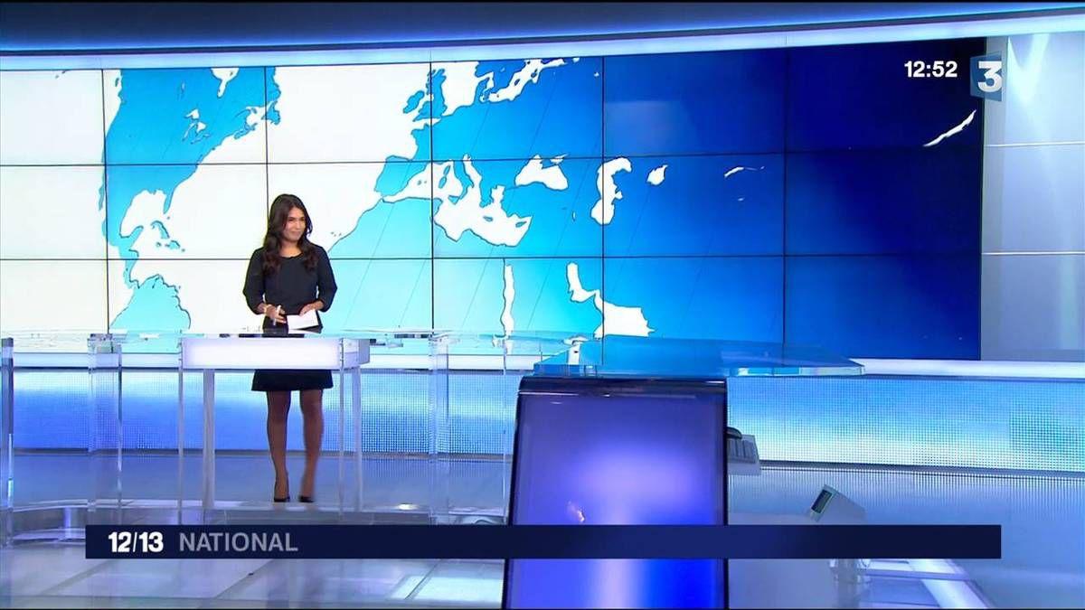 Emilie Tran Nguyen 12/13 France 3 le 27.09.2016