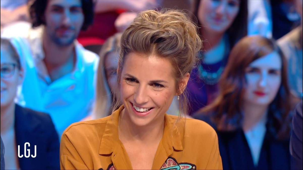 Alice Darfeuille Le Grand Journal Canal + le 27.09.2016