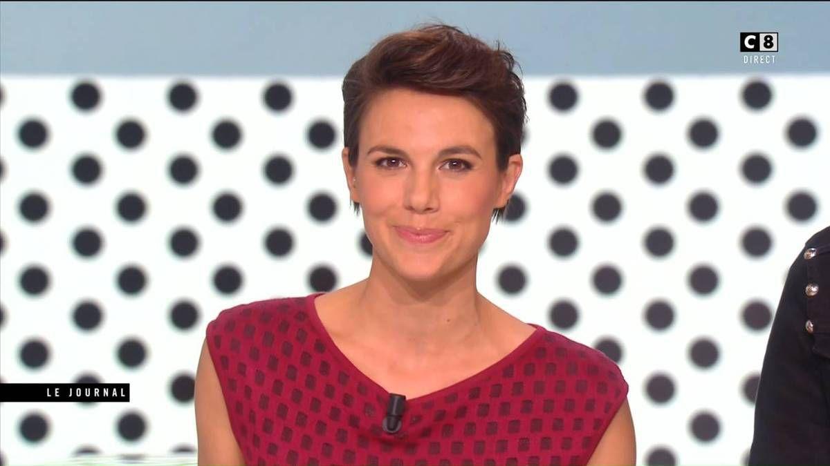 Emilie Besse La Nouvelle Edition C8 le 28.09.2016