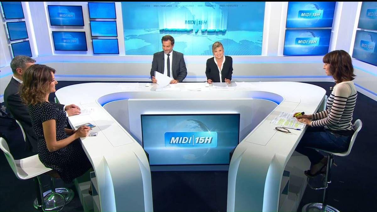 Fanny Agostini Météo BFM TV le 28.09.2016