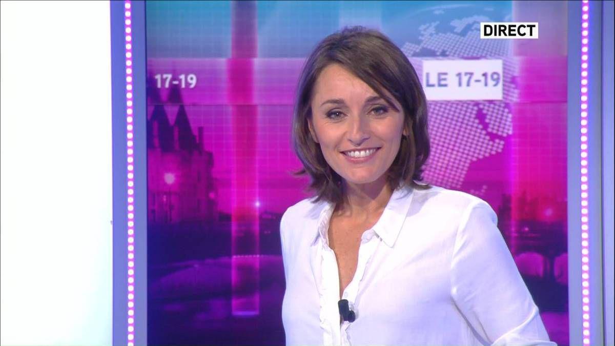 Amandine Bégot Le 17-19 Itélé le 28.09.2016