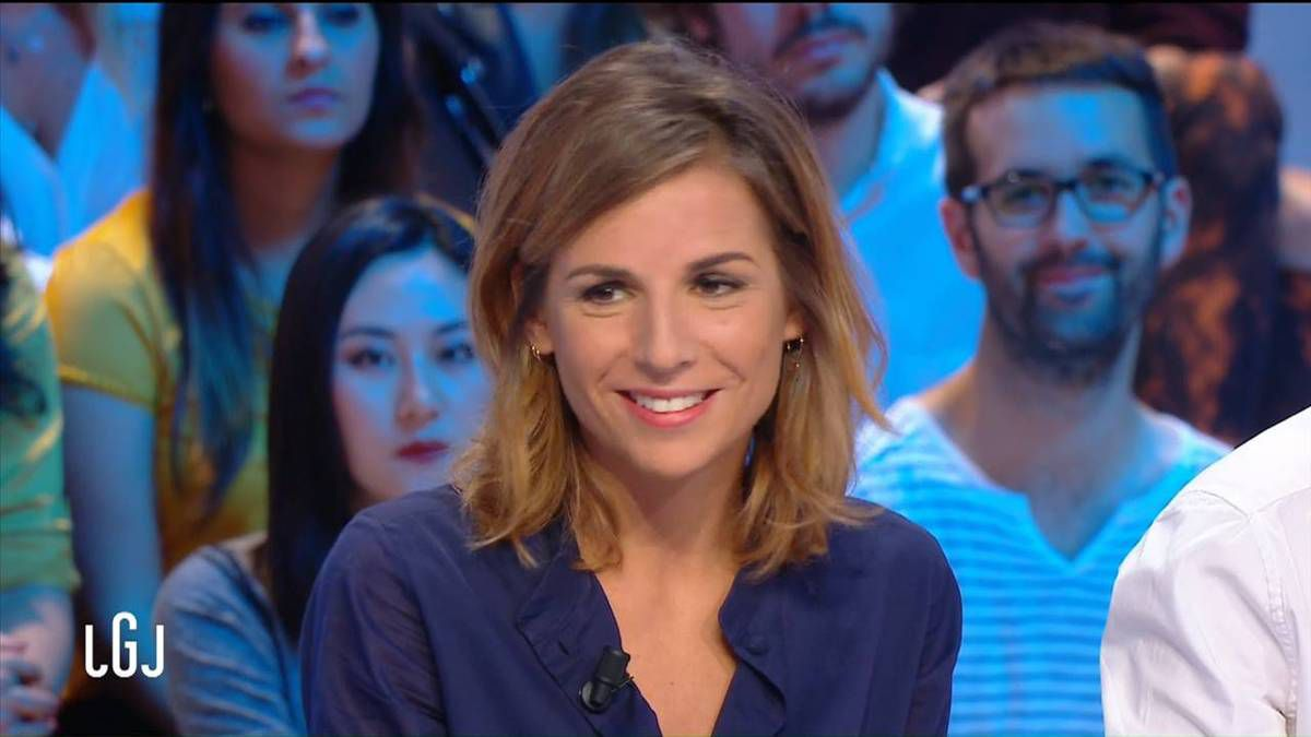 Alice Darfeuille Le Grand Journal Canal + le 29.09.2016