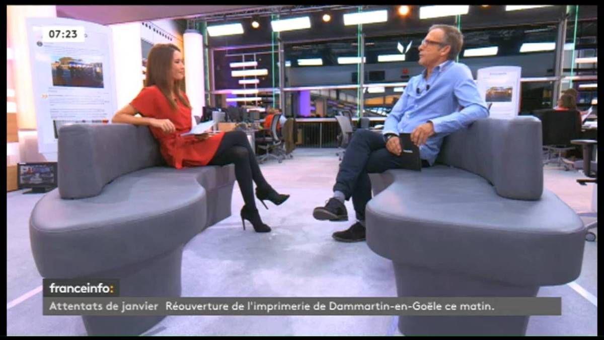 Emilie Broussouloux La Matinale France Info: le 29.09.2016