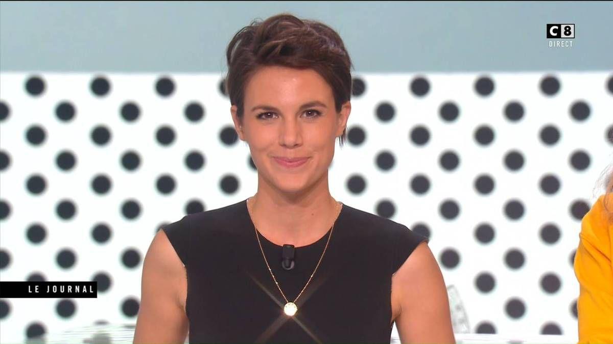 Emilie Besse La Nouvelle Edition C8 le 30.09.2016