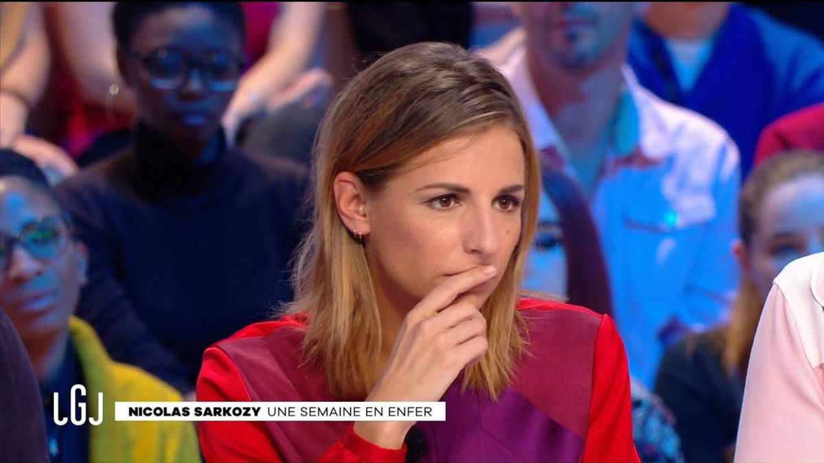 Alice Darfeuille Le Grand Journal Canal + le 30.09.2016