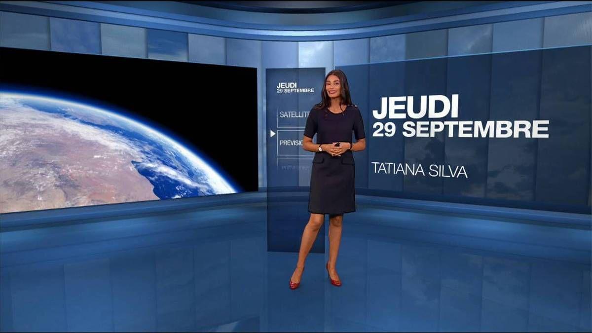 Tatiana Silva Météo M6 le 29.09.2016