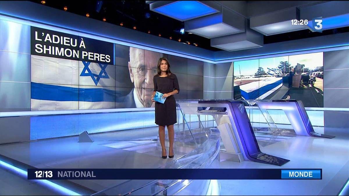 Emilie Tran Nguyen 12/13 France 3 le 30.09.2016