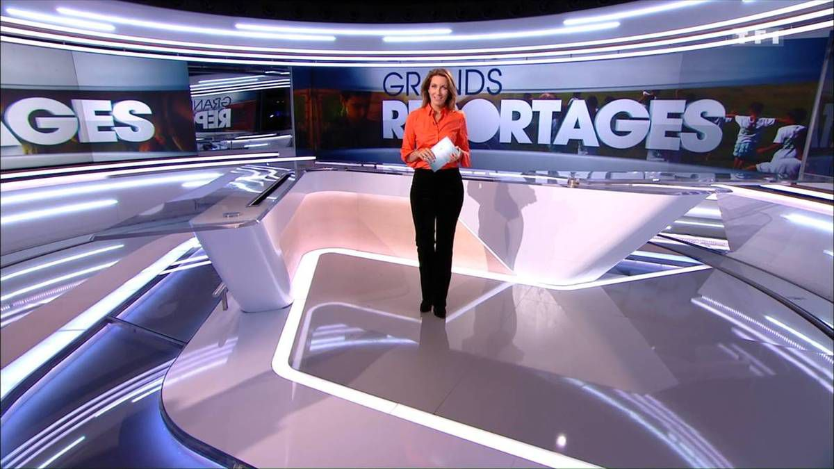 Anne-Claire Coudray JT 13H TF1 01.10.2016