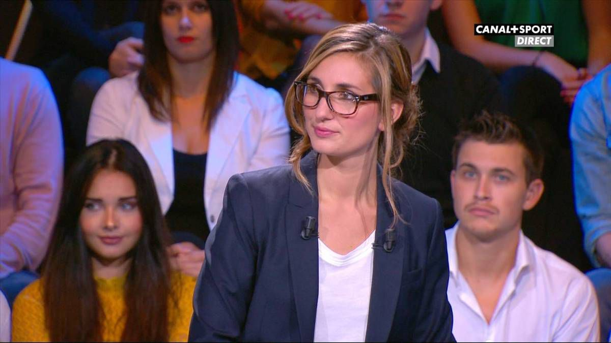 Marie Portolano 19H30 Sport Canal + Sport le 30.09.2016