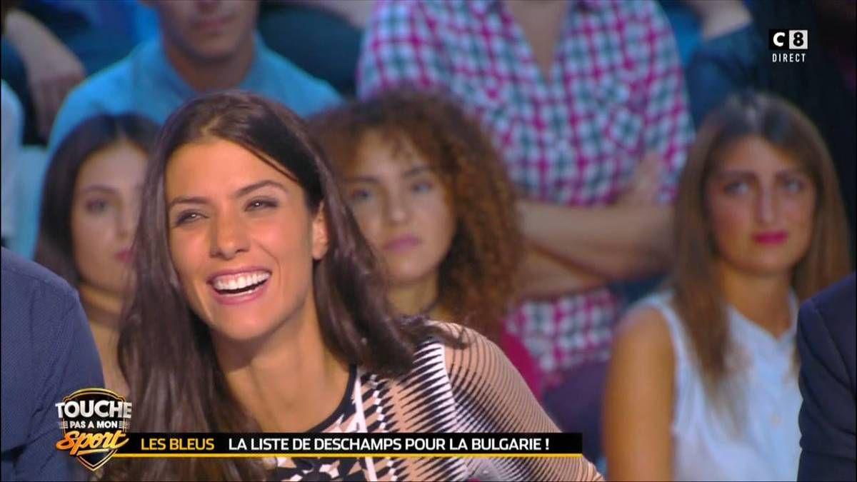 Ludivine Sagna Touche Pas à Mon Sport C8 le 01.10.2016