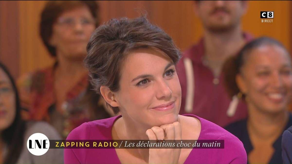 Emilie Besse La Nouvelle Edition C8 le 03.10.2016