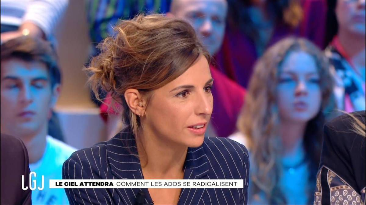 Alice Darfeuille Le Grand Journal Canal + le 03.10.2016