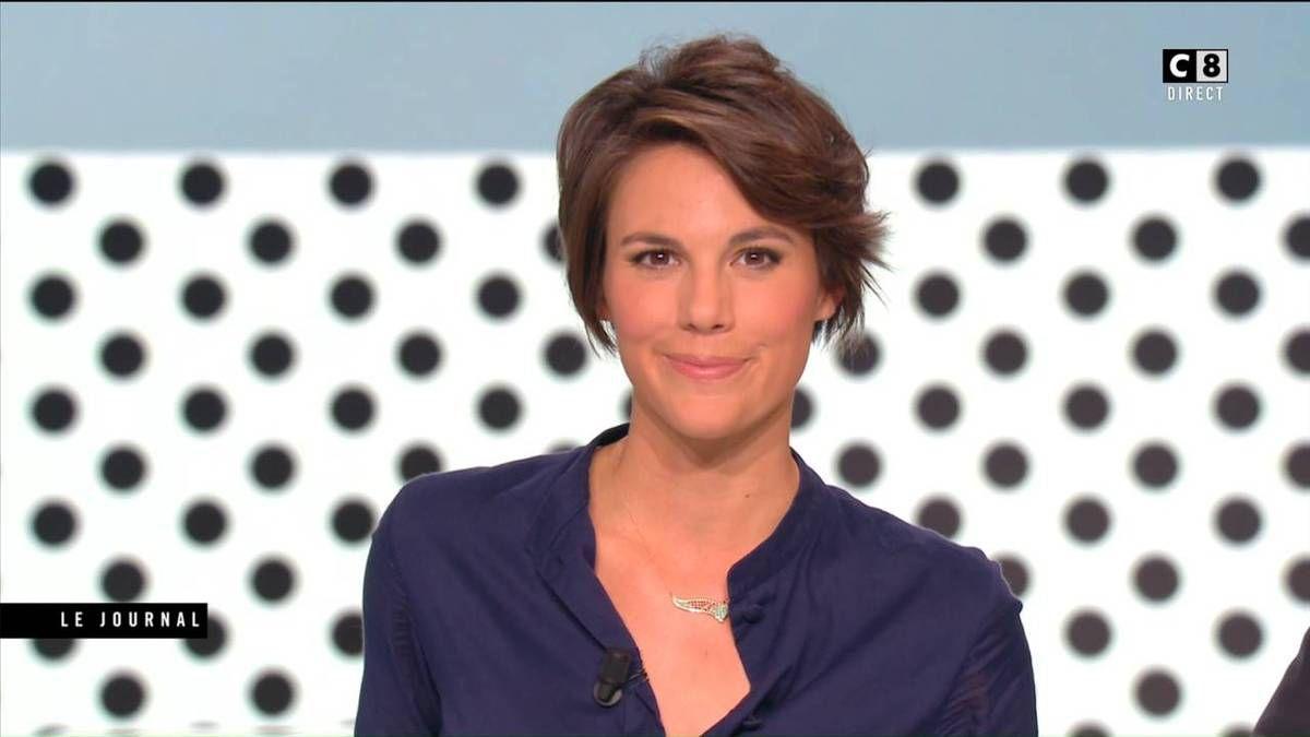 Emilie Besse La Nouvelle Edition C8 le 04.10.2016