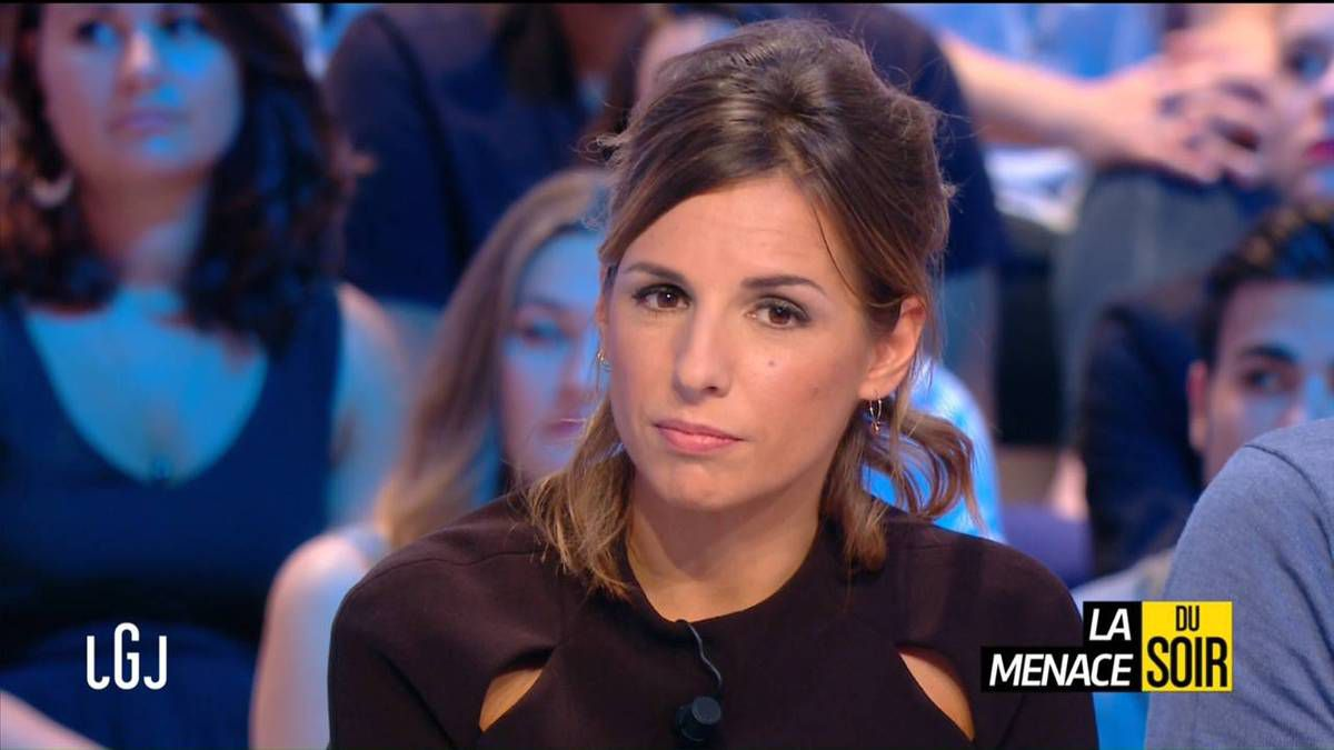 Alice Darfeuille Le Grand Journal Canal + le 04.10.2016