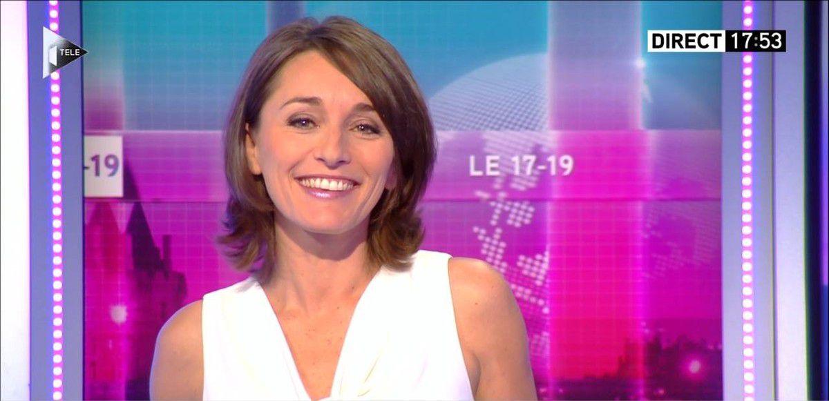 Amandine Bégot Le 17-19 Itélé le 04.10.2016