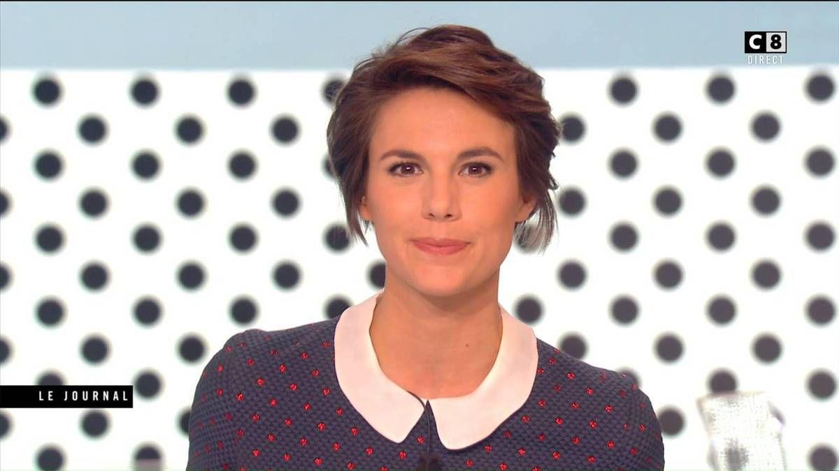 Emilie Besse La Nouvelle Edition C8 le 05.10.2016