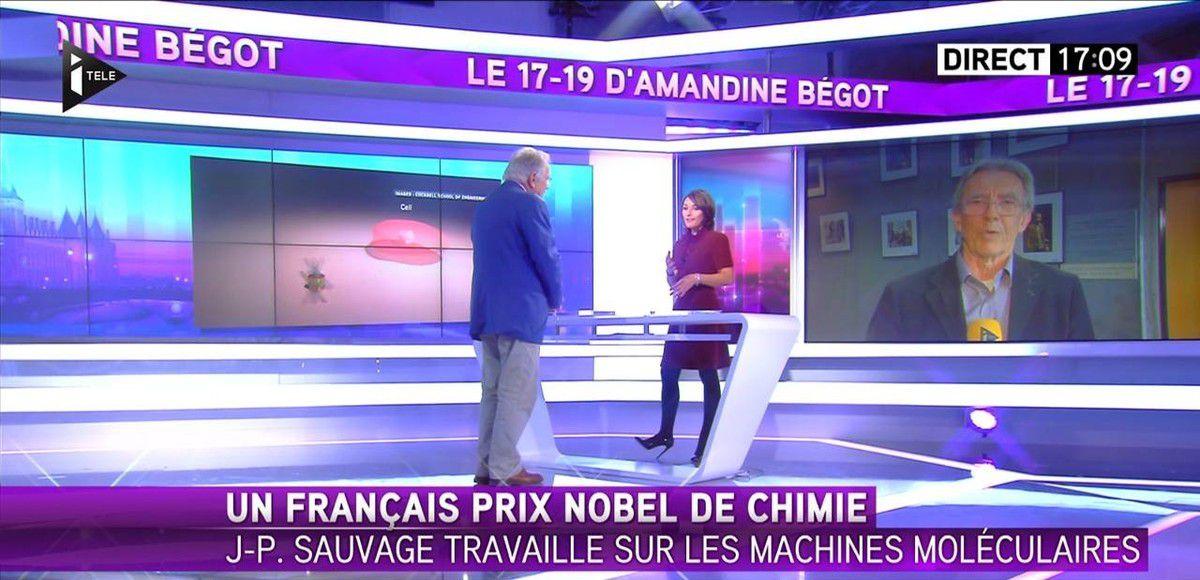 Amandine Bégot Le 17-19 Itélé le 05.10.2016