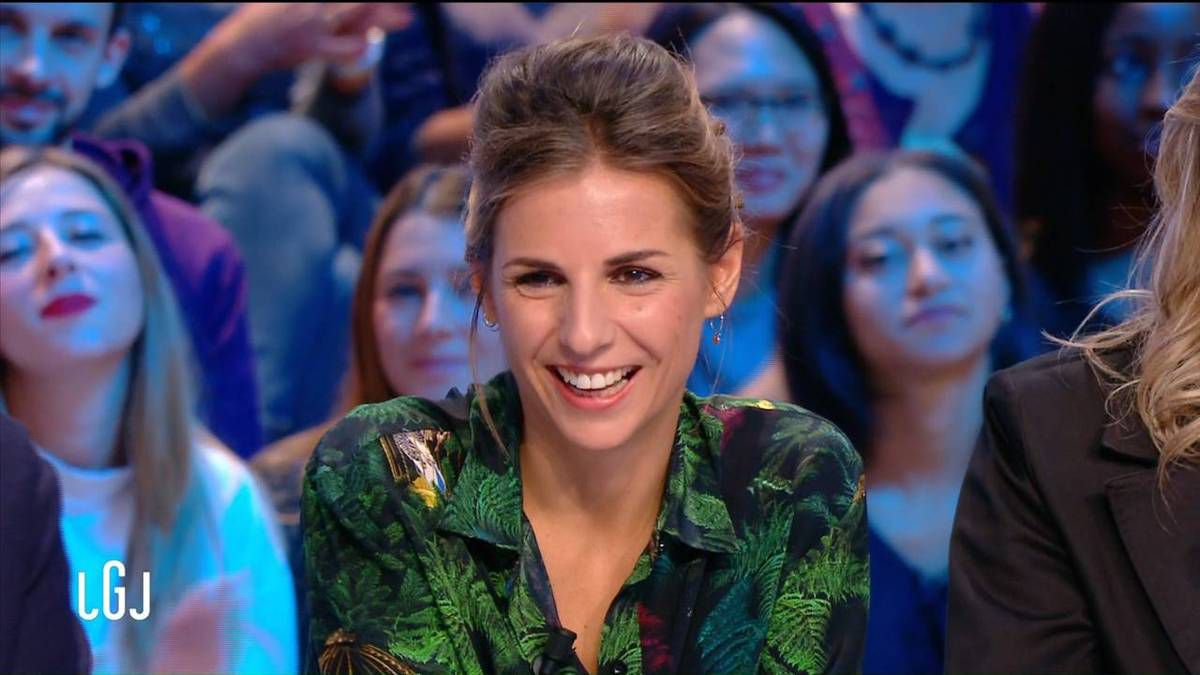 Alice Darfeuille Le Grand Journal Canal + le 07.10.2016